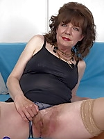 Extreme Hairy mature lady getting naughty with her toy boy