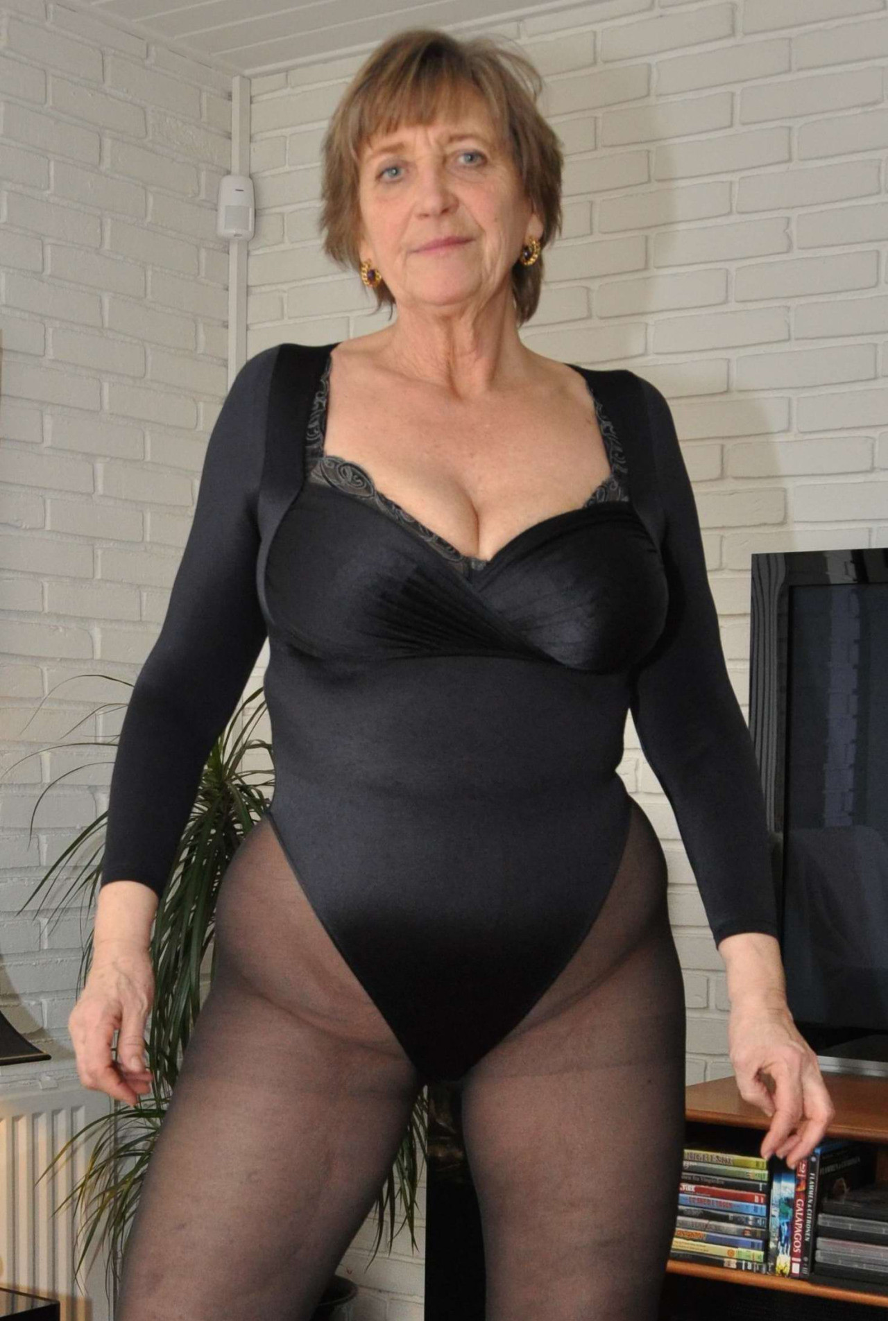 Mother pantyhose love
